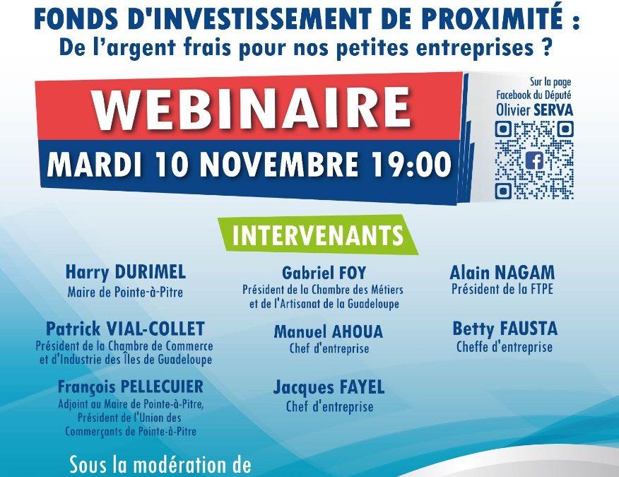 Olivier SERVA, vous invite ce mardi 10 novembre à 19h00 à la première édition de « Tann pou konprann » nos rencontres thématiques sur les activités parlementaires.