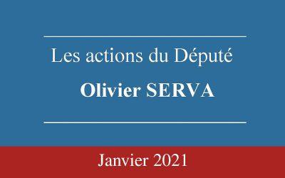 Newsletter Olivier SERVA Janvier 2021