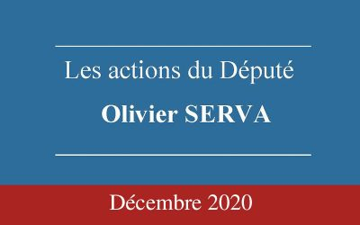 Newsletter Olivier SERVA DECEMBRE 2020