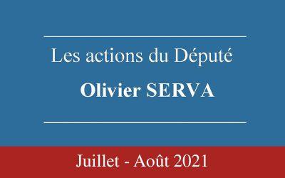 Newsletter Olivier Serva Juillet-Aout 2021