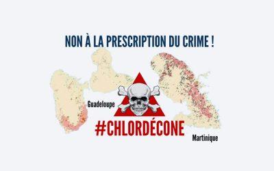 CHLORDÉCONE : NON À LA PRESCRIPTION