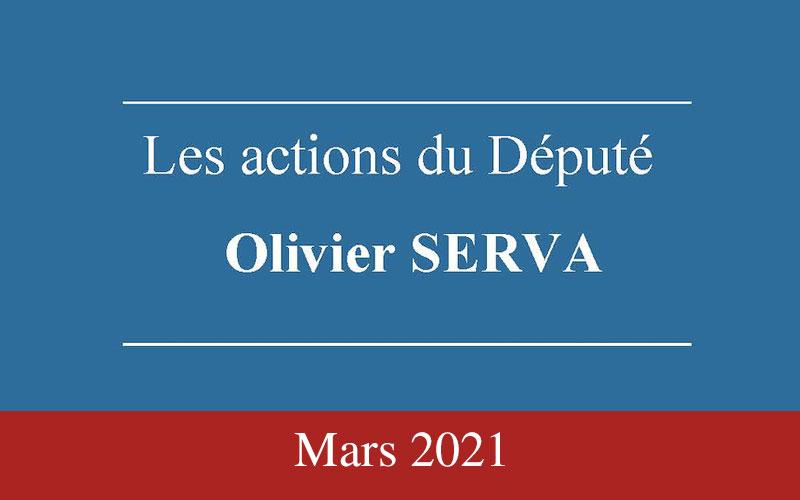 Newsletter Olivier Serva Mars 2021